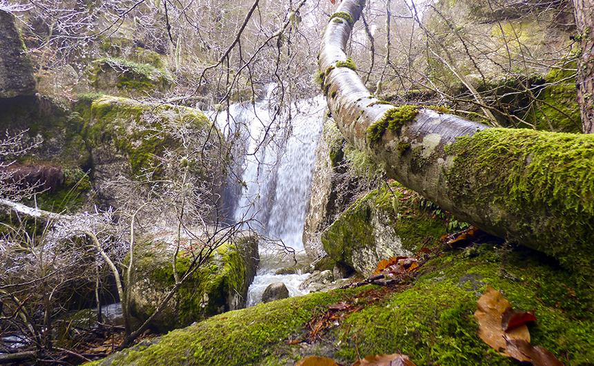 Ruta Cascada de la Mina del Médico Covaleda Soria Ayuntamiento Turismo